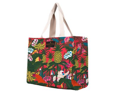 SG Fauna & Orangutan Travel Tote Bag Local Tote Bags Chalo