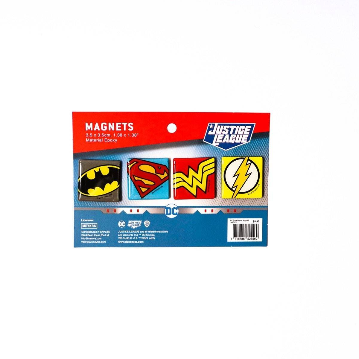 DC Superheroes Magnet - Magnets - Ok Can Lah - Naiise