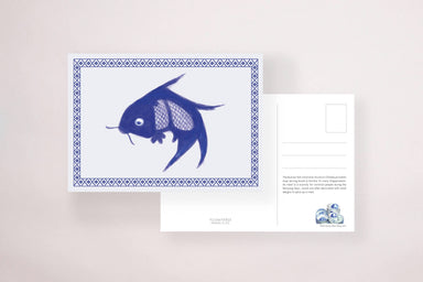 Koi Fish Bowl Postcard - Local Postcards - YOUNIVERSE DESIGN - Naiise