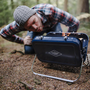 The Gentlemen's Hardware - Large Portable BBQ - Travel Accessories - The Planet Collection - Naiise