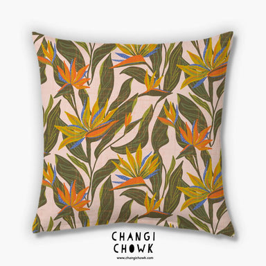 Cushion Cover - Tropical Floral - Cushion Covers - Changi Chowk - Naiise