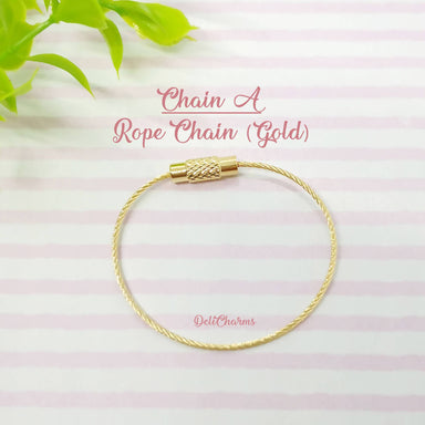 Rope Chains for Charms - Keychains - Deli Charms - Naiise