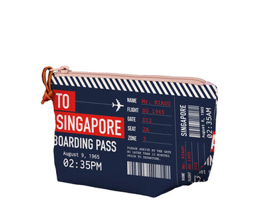SG Boarding Pass Medium Pouch Local Pouches Chalo