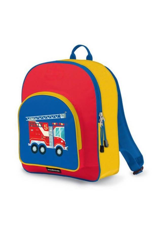 Crocodile Creek Pocket Backpacks - Fire Truck - Kids Backpacks - The Children's Showcase - Naiise