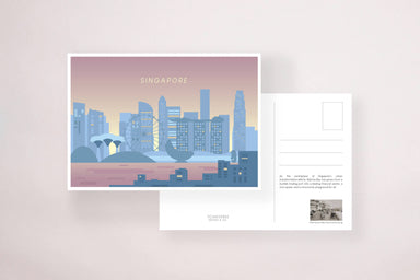 Marina Bay Sunset Postcard - Local Postcards - YOUNIVERSE DESIGN - Naiise