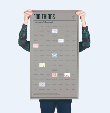 Doiy - 100 Things You Must Do Before You Die - Novelty Gifts - The Planet Collection - Naiise