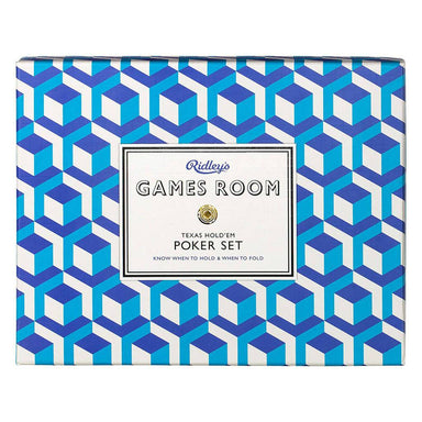 Ridley's Poker Set - Card Games - The Planet Collection - Naiise