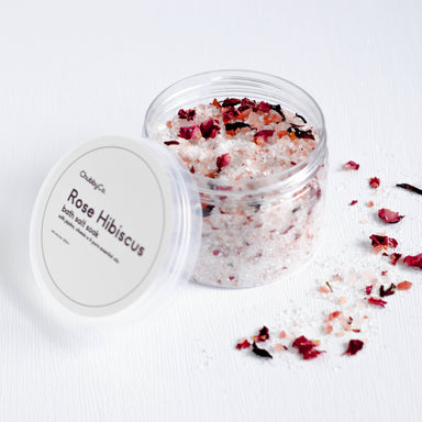 Bath Salt Soak - Rose Hibiscus - Bath Salts - ChubbyCo. - Naiise