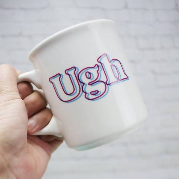 Fred - Ugh Mug - Mugs - The Planet Collection - Naiise