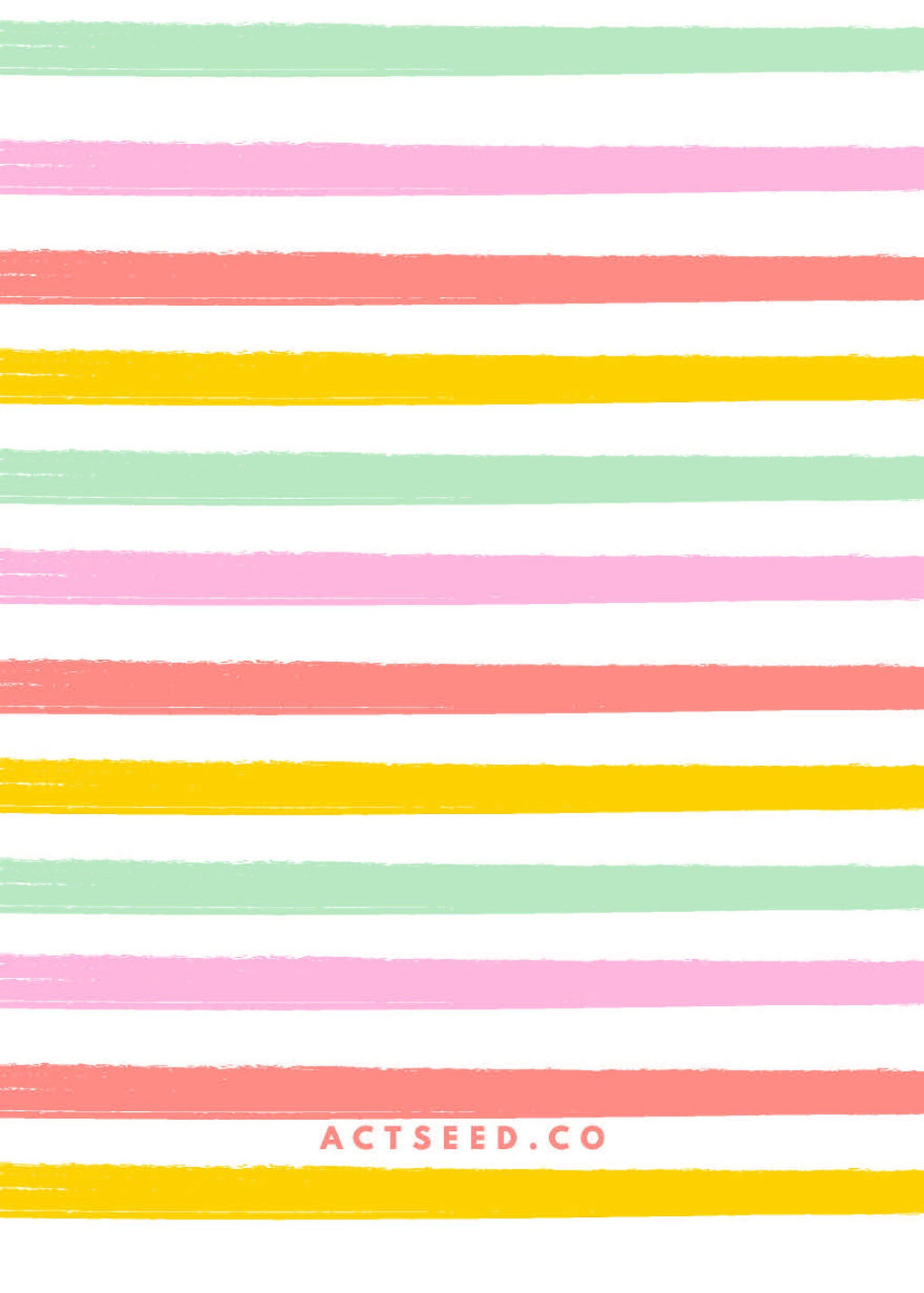 Actseed Co. Wrapping Paper 10 (Stripes) Wrapping Papers Actseed Co.