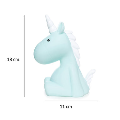 Dhink Unicorn Night Light Blue - Night Lights - Zigzagme - Naiise