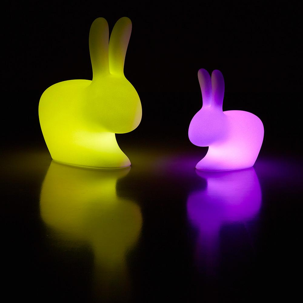 Adult LED Outdoor Rabbit Chair (Pre-Order) - Seating - Qeeboo - Naiise