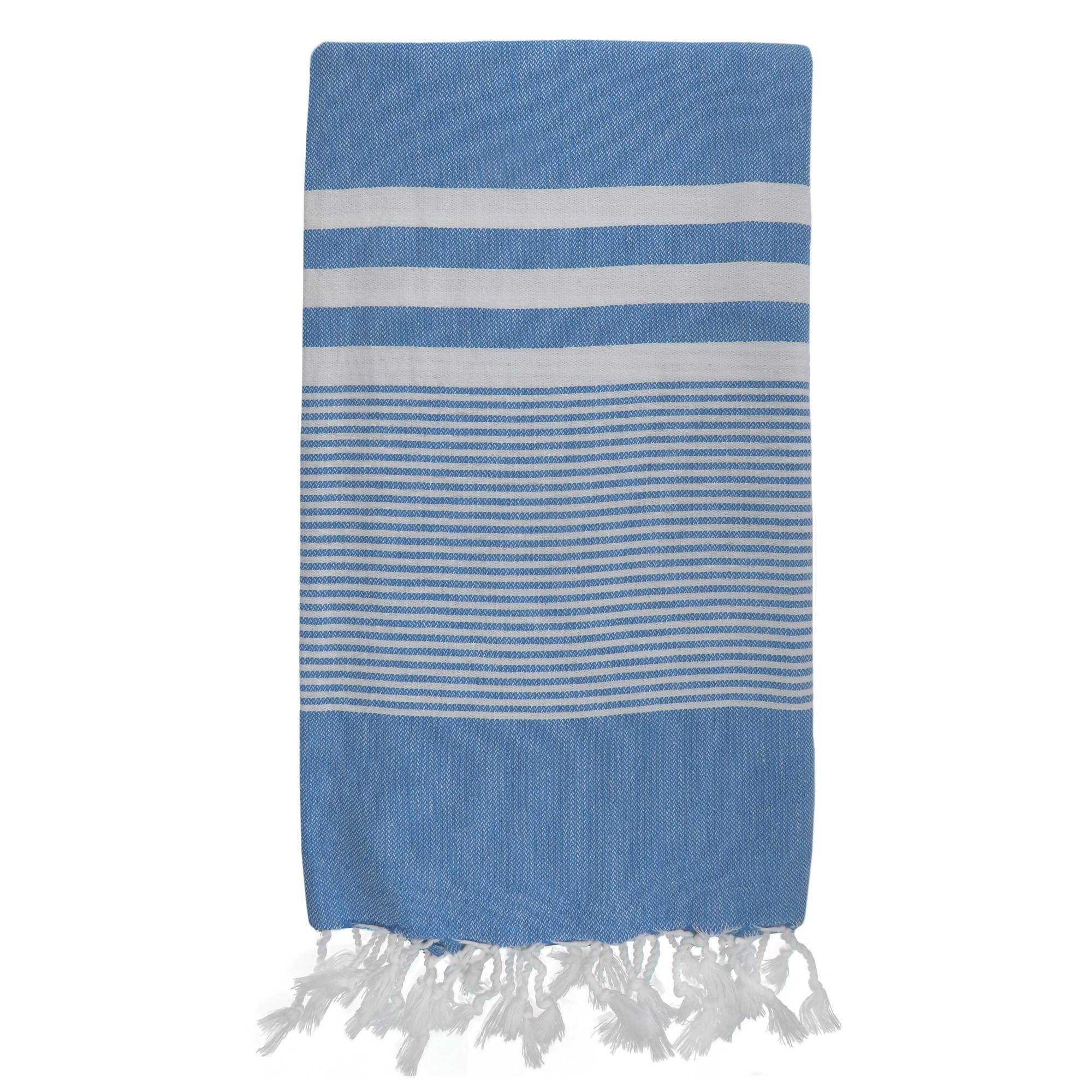 Aegean Turkish Towel - Beach Towels - Turquoise Beach Co - Naiise