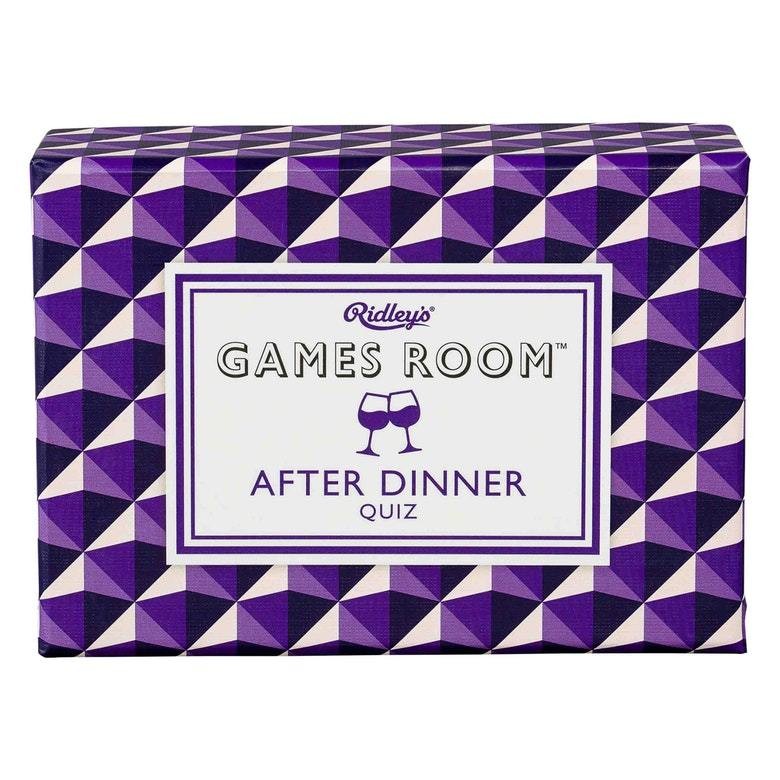 After Dinner Quiz Card Games RIDLEY