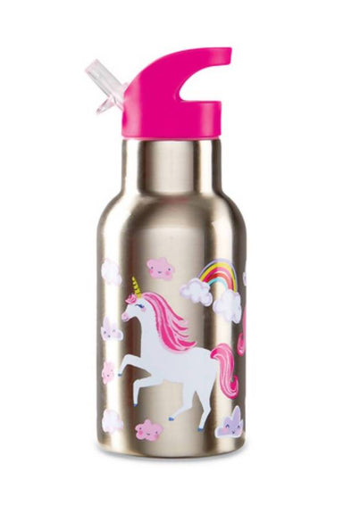 Crocodile Creek Stainless Bottle - Unicorn - Kids Bottles - The Children's Showcase - Naiise