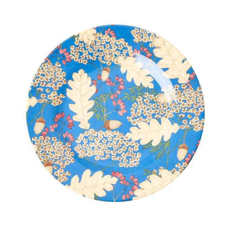 Melamine Side Plate with Autumn and Acorns Print - Kitchenware - The Children's Showcase - Naiise