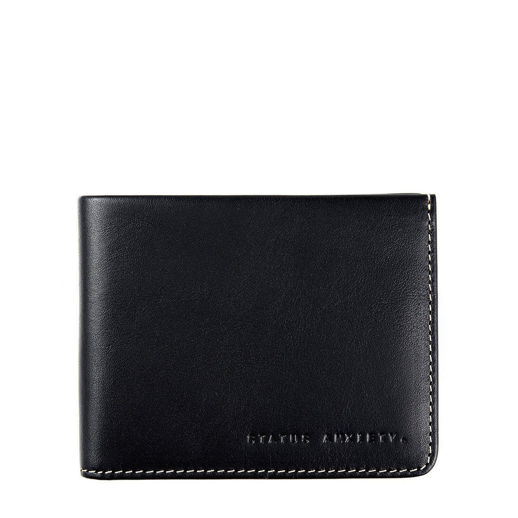 Alfred Wallet Men's Wallets Status Anxiety Black