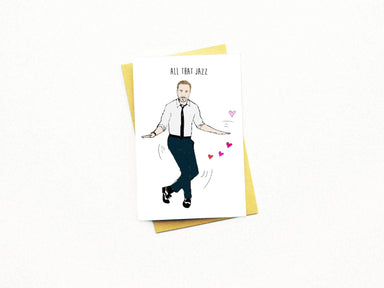 All That Jazz Greeting Card - Naiise