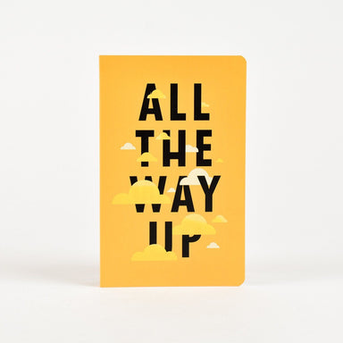 All The Way Up Vivid Notebook Notebook Letternote