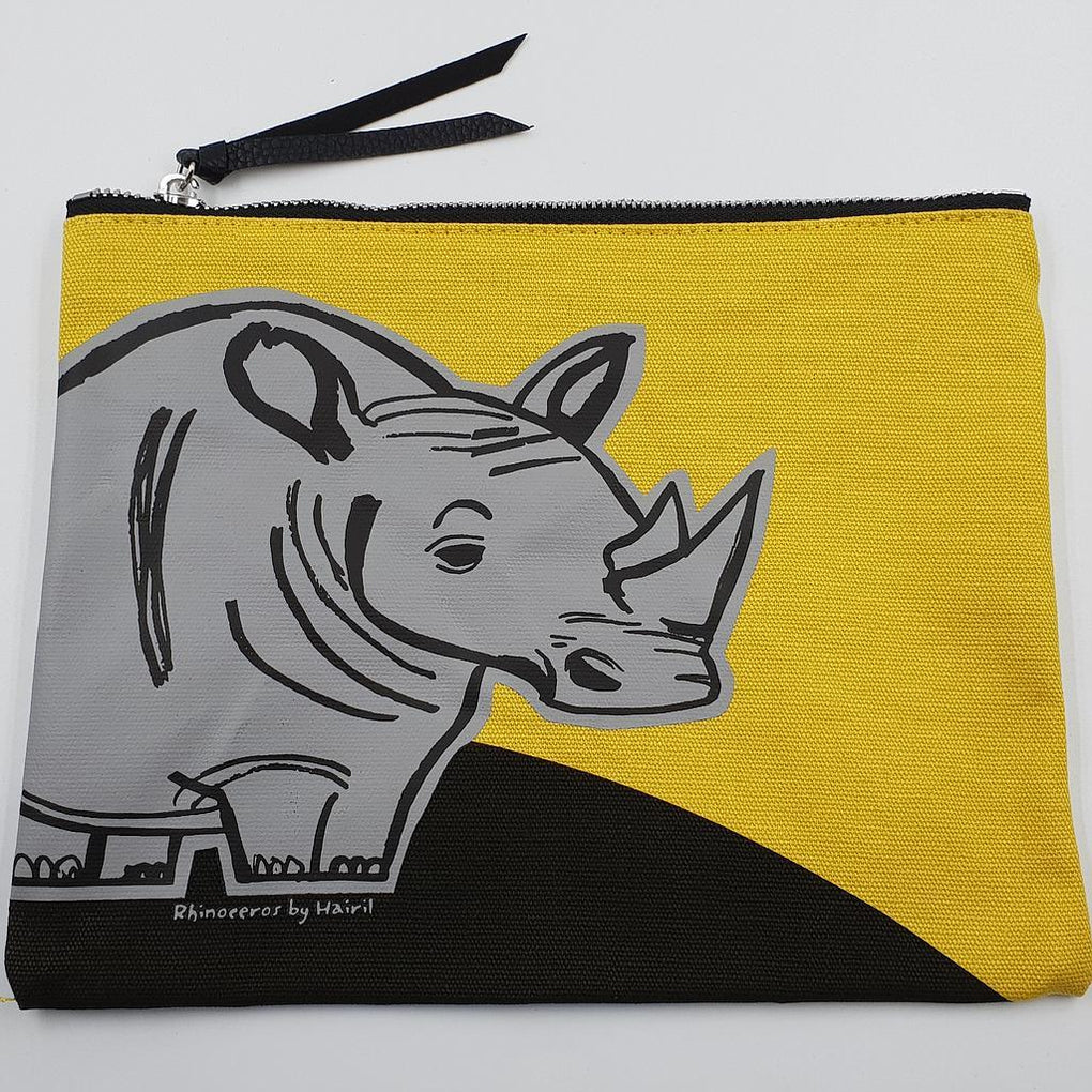 Animal Pouch+ Pouches The Animal Project Rhinoceros