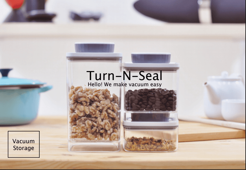 ANKOMN TURN-N-SEAL VACUUM CONTAINER Food Containers ANKOMN