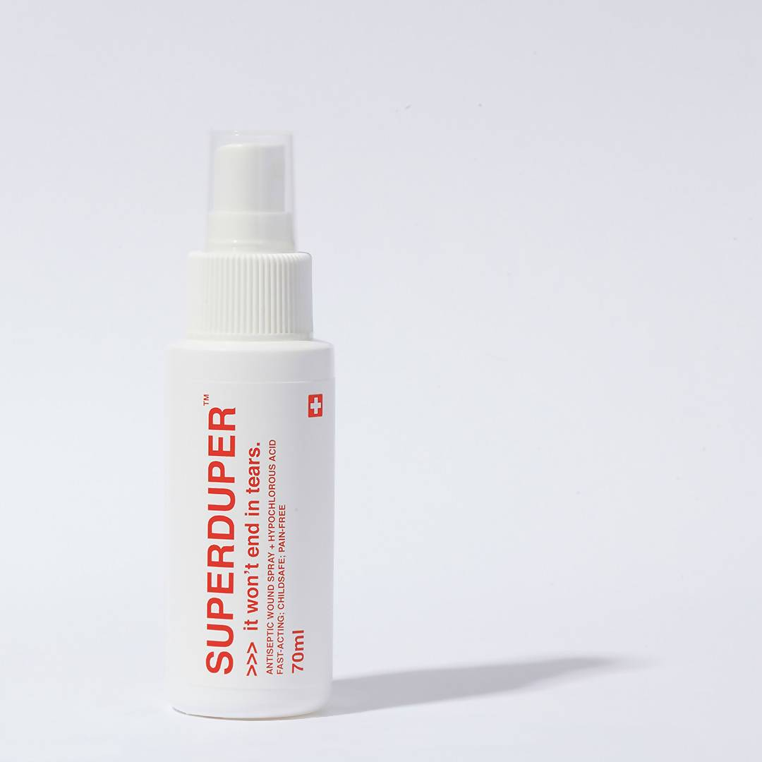 Antiseptic Wound Spray - It Won't End In Tears Disinfectant Spray SUPERDUPER