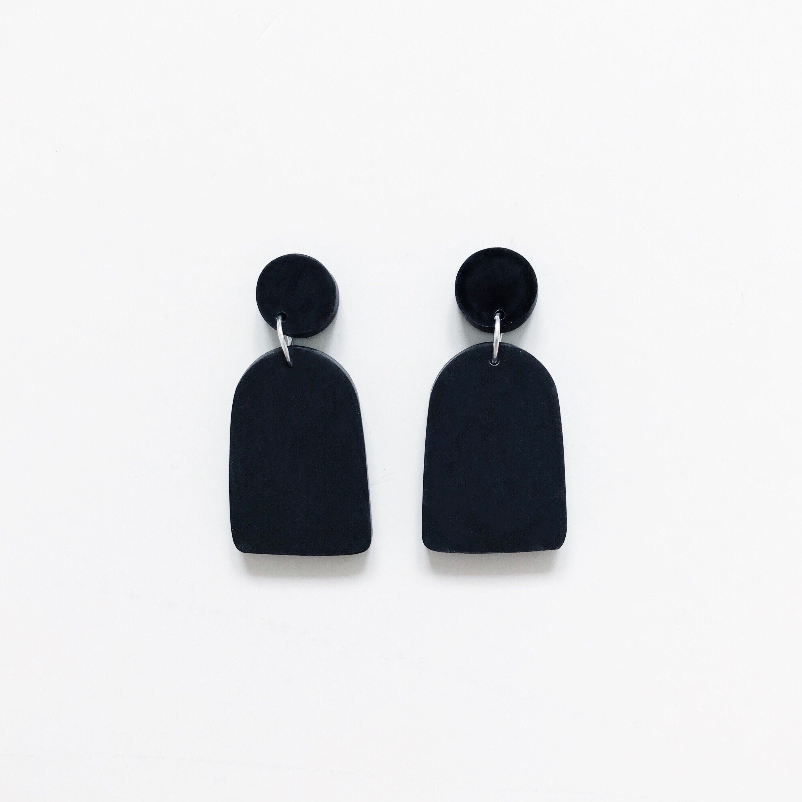 Arch Drop Earrings - Earrings - Anders & Dawn - Naiise