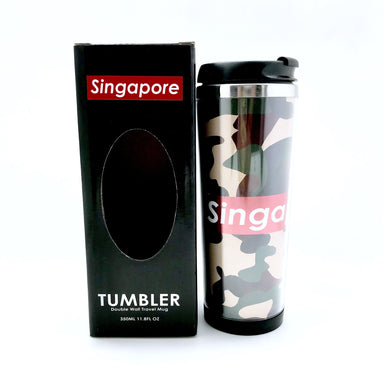 Army Camo Double Wall Travel Mug - Local Tumblers - Little Red Box - Naiise