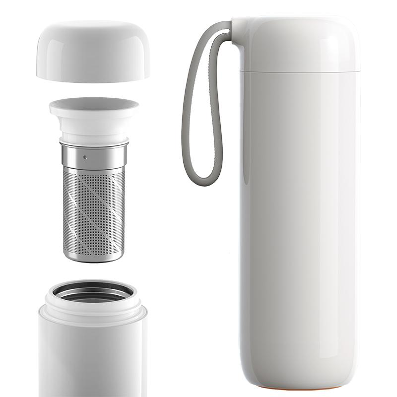 Artiart Suction Thermal Bottle - Cloud Thermal Flasks Artiart