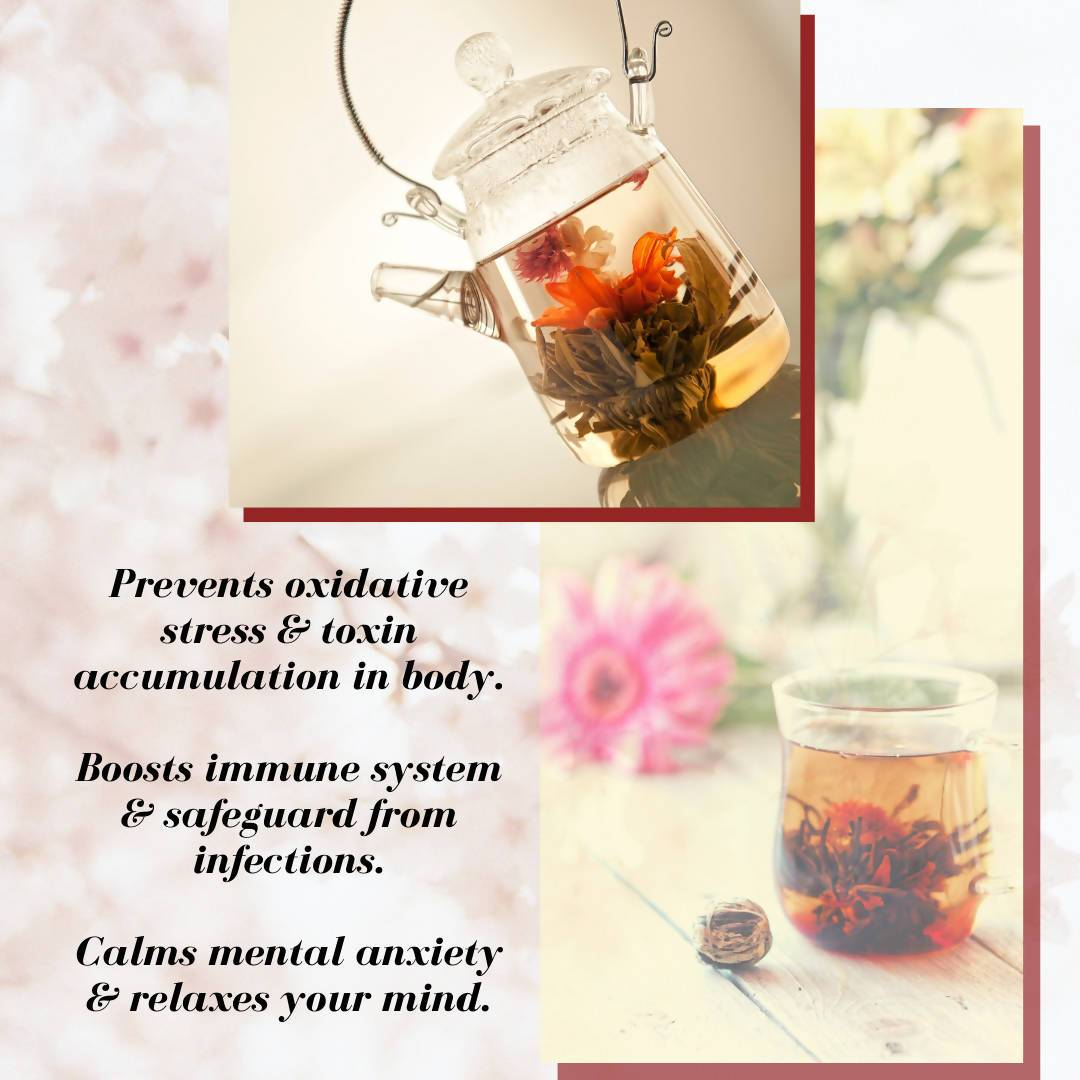 Assorted Blooming Tea Bundle (Petite) - Teas - Petale Tea - Naiise