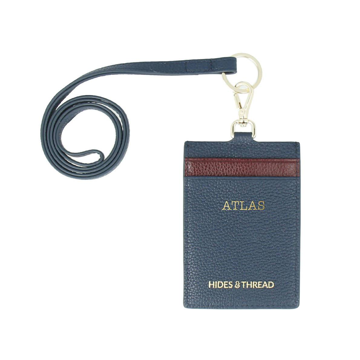 Atlas Leather Lanyard - Cardholders - Hides and Thread - Naiise