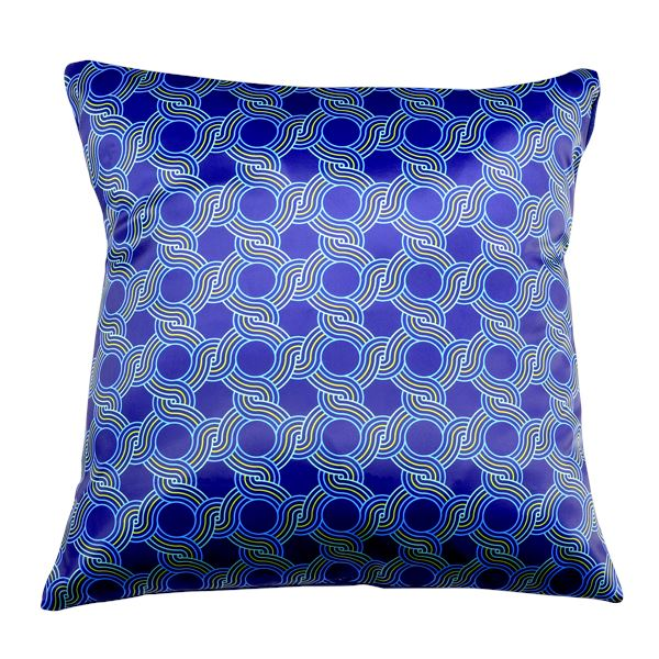 Auspicious 8 Cushion Cover - Blue Cushion Covers Shevron