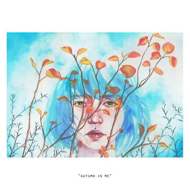 Autumn In Me Mini Art Print - Naiise
