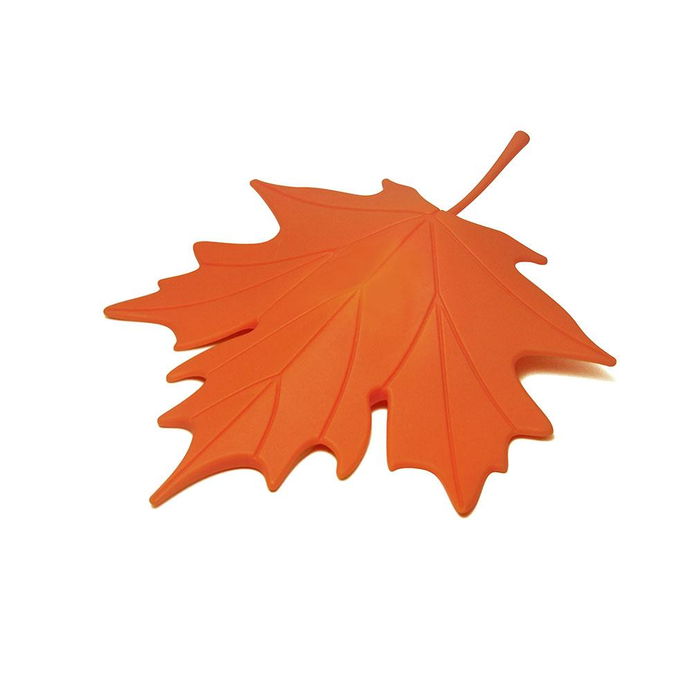 Autumn Leaf Door Stopper Home Decor Qualy Orange