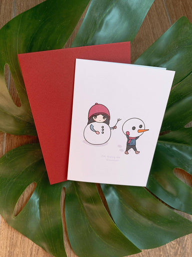 Loop - Frosty The Snowman Christmas Card - Christmas Cards - We Are Too Late - Naiise