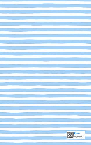 BABY BLUE STRIPES WRAPPER - Wrapping Papers - Fevrier Designs - Naiise
