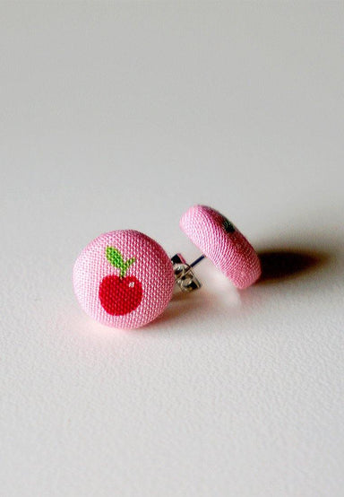 Baby Cherry Stud Earrings - Earrings - Paperdaise Accessories - Naiise