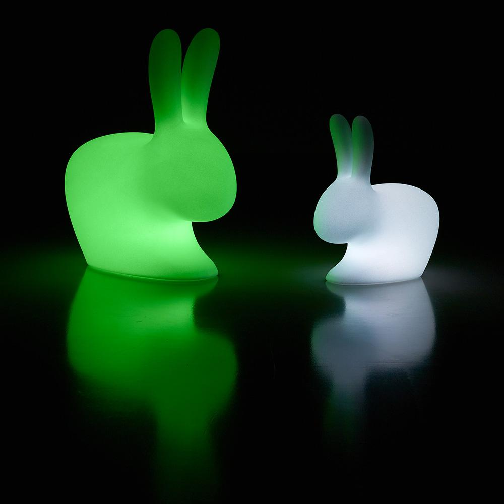 Baby LED Outdoor Rabbit Chair (Pre-Order) - Nursery Décor - Qeeboo - Naiise