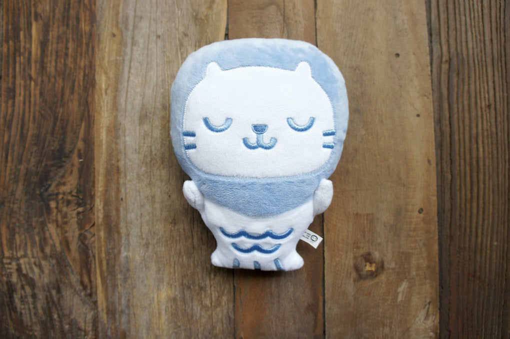 Baby Mer Mer the Merlion Plush - Contented Blue Serenity Local Plushies The Forest Factory