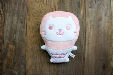 Baby Mer Mer The Merlion Plush - Cotton Candy Pink - Local Plushies - The Forest Factory - Naiise