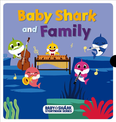Baby Shark and Family - Children Books - Marshall Cavendish - Naiise
