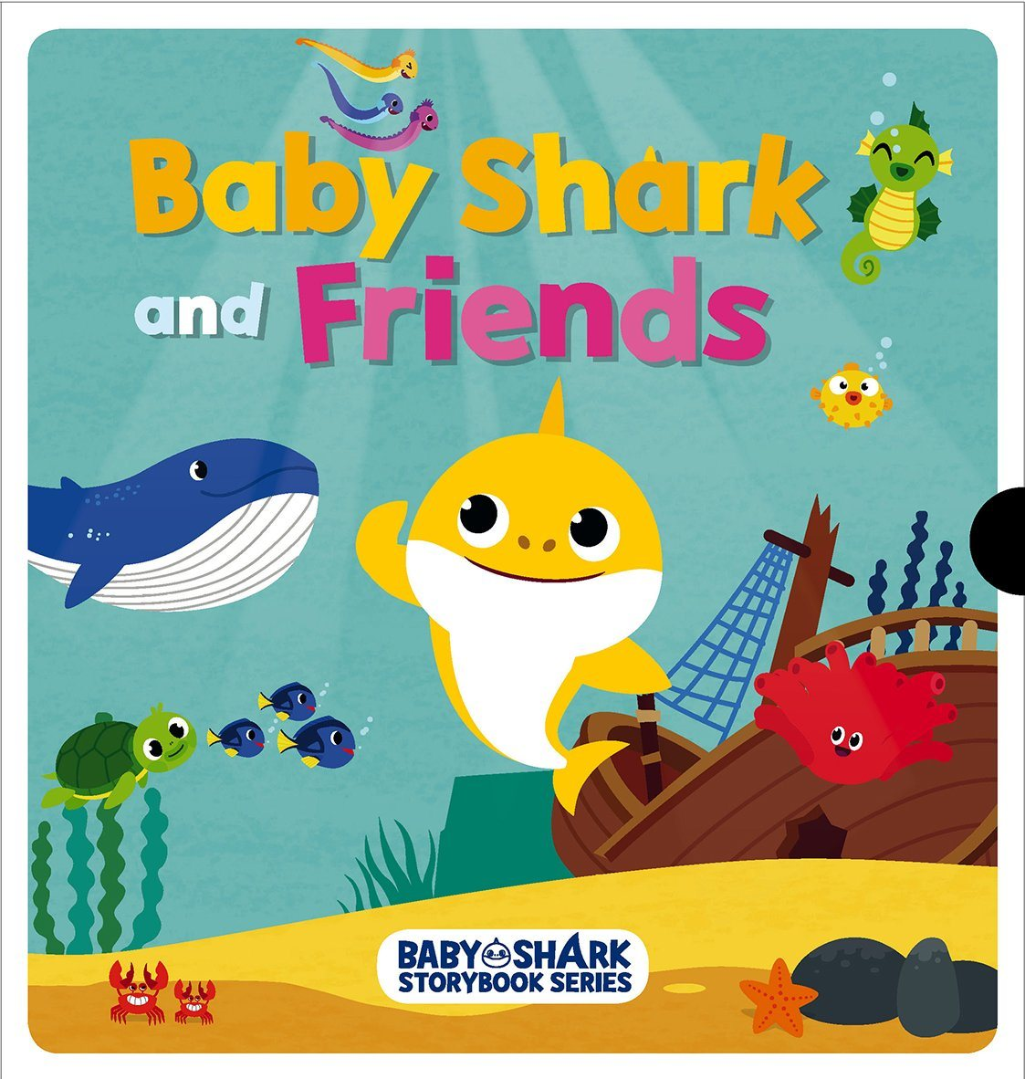 Baby Shark and Friends Children Books Marshall Cavendish