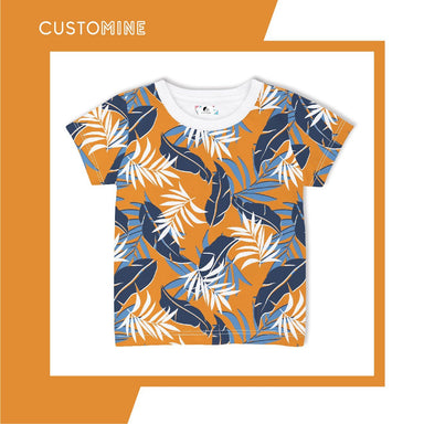 Bali Bohemian Kid's T-shirt Local Baby Clothing CUSTOMINE 1-3Y Sunny