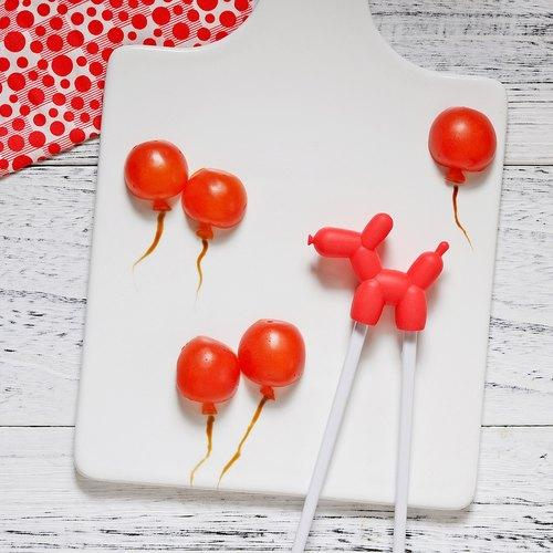 Balloon Dog Chopsticks Children Cutlery The Daydreamer Studio