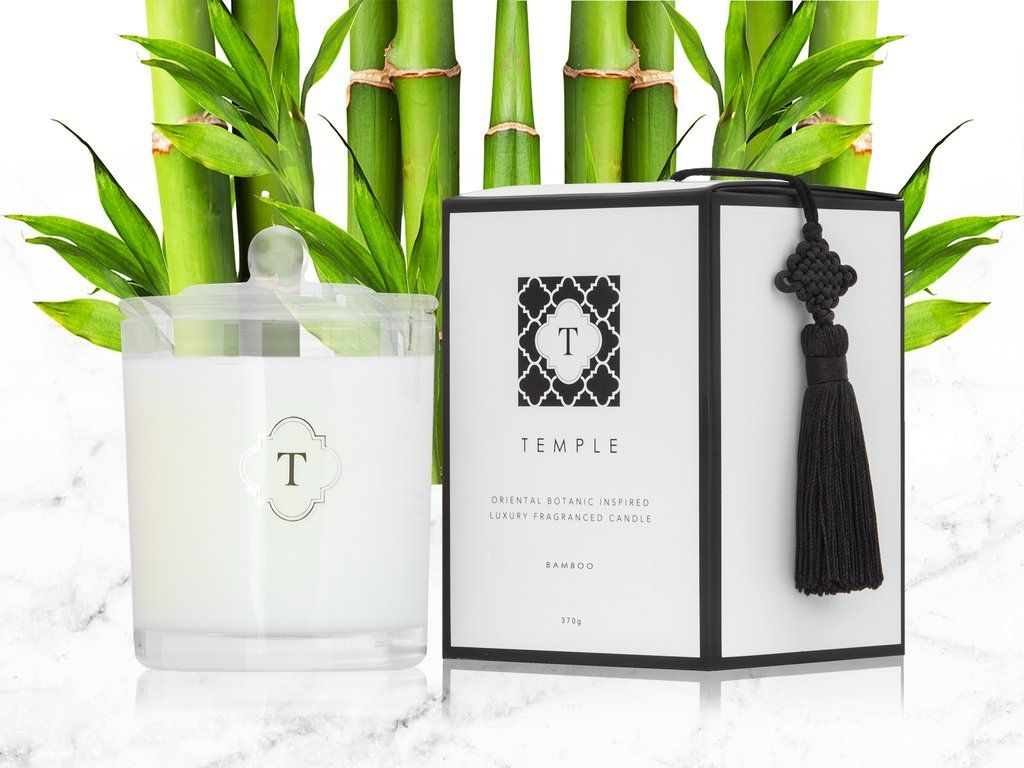Bamboo Candle - Scented Candles - Temple Candles - Naiise