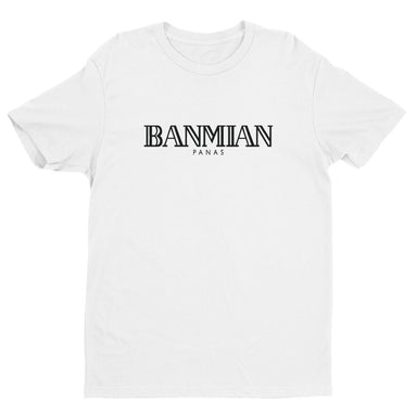 Banmian Panas Crew Neck S-Sleeve T-shirt (Pre-order) - Local T-shirts - Wet Tee Shirt - Naiise