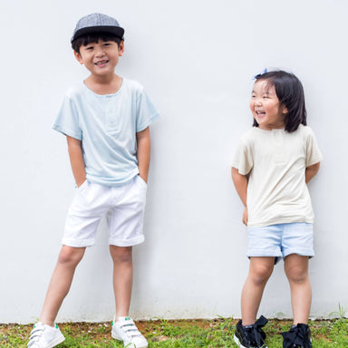 Basic Organic Cotton Top - Kids Clothing - twopluso - Naiise