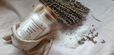 Bath Salts Lavender (150g) - Body Scrubs - Alletsoap - Naiise