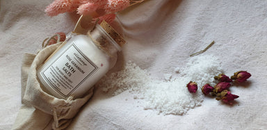 Bath Salts Rose Geranium (70g) Body Scrubs Alletsoap