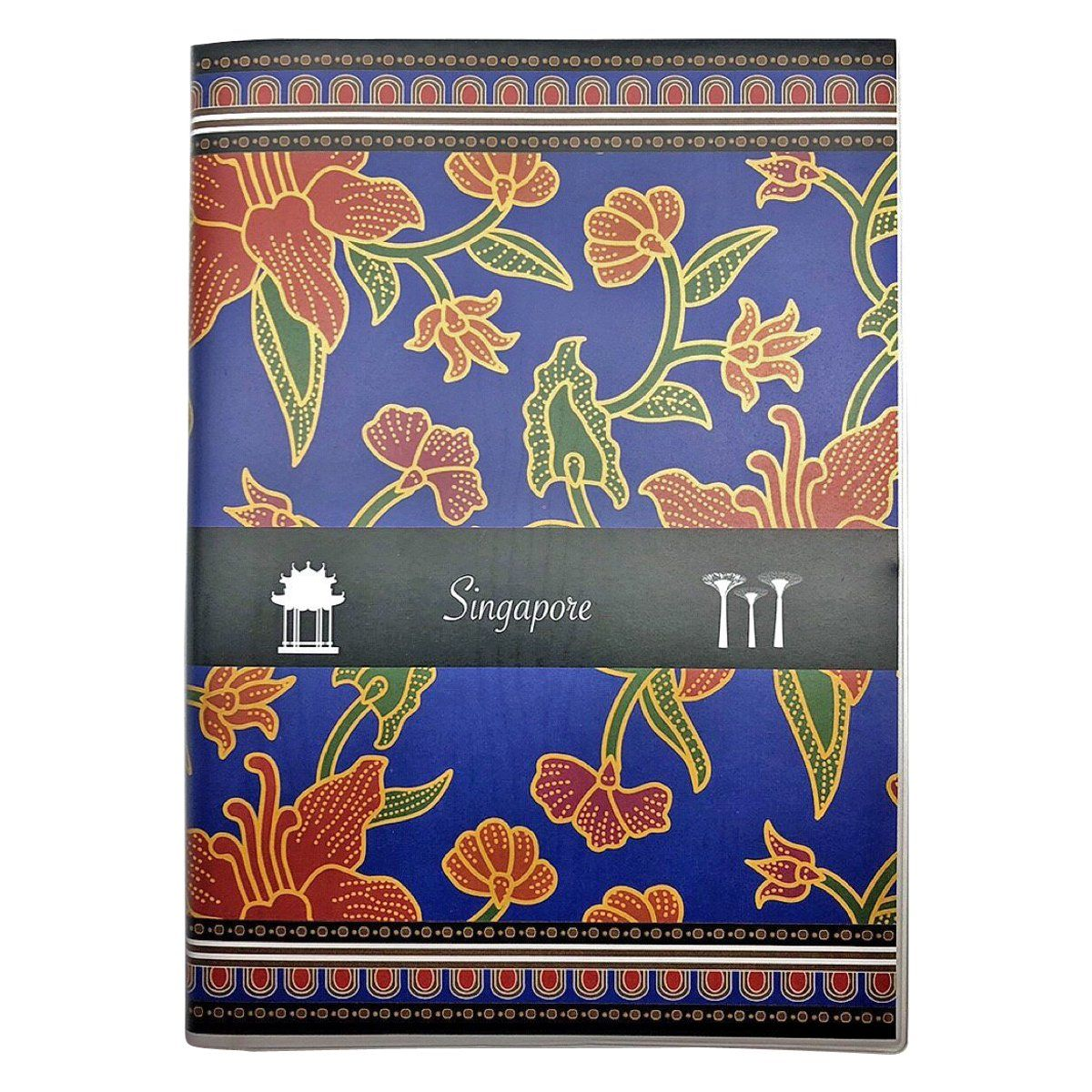 Batik Blue Notebook - Local Notebooks - i-Zakka - Naiise